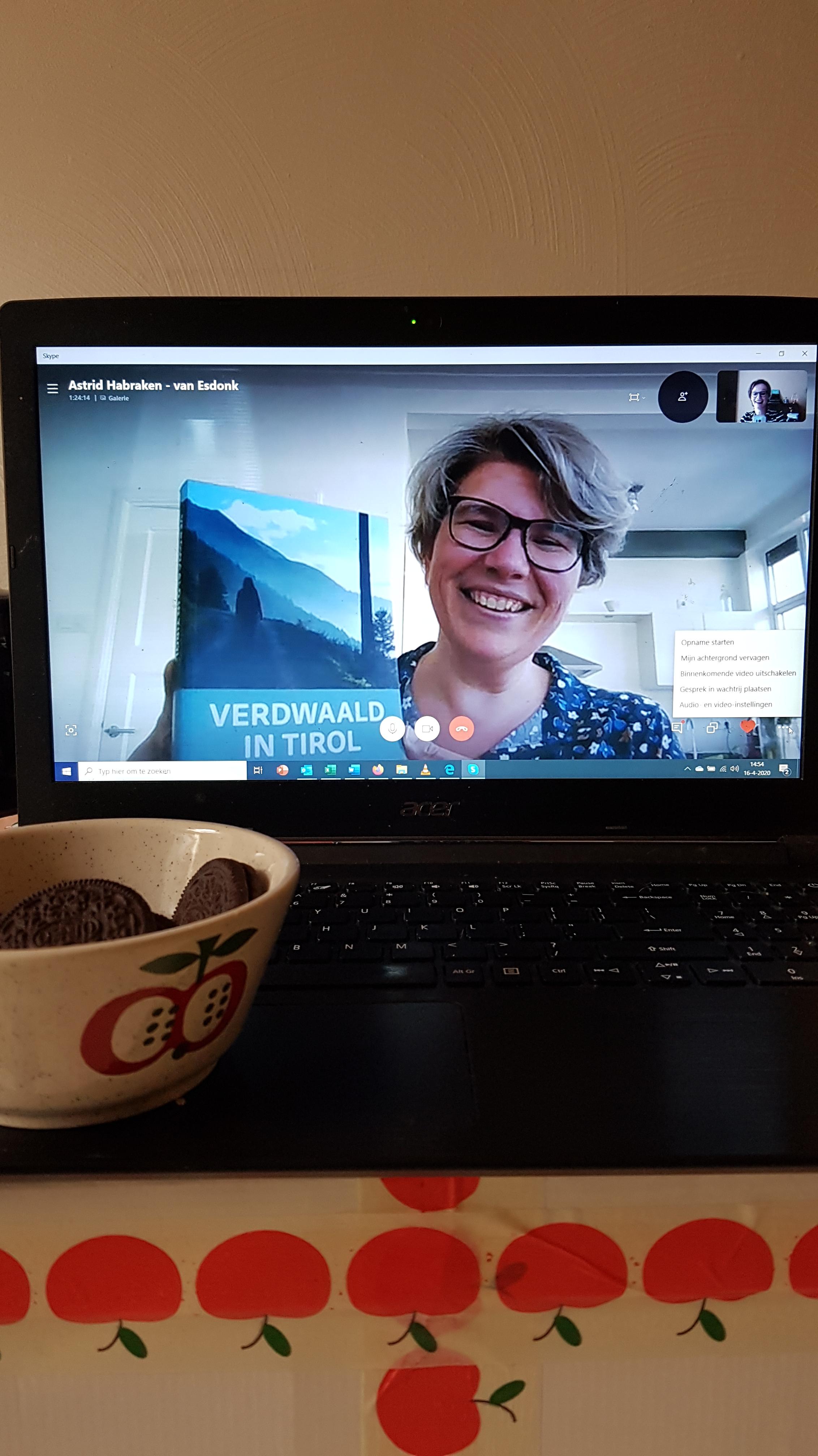 Astrid Habraken Auteur Verdwaald in Tirol